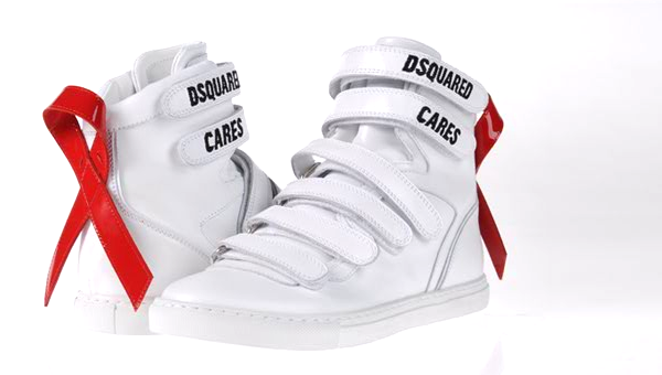 dsquared lifeball sneaker