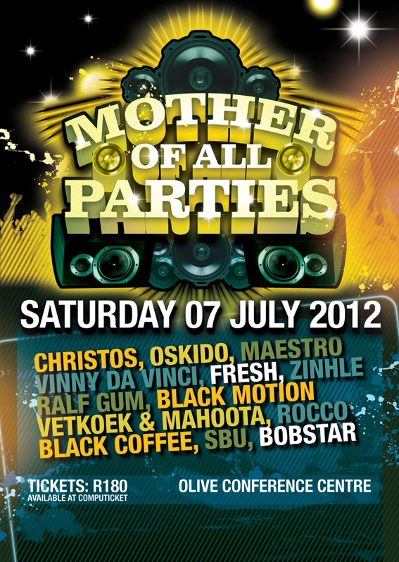 South African Music Conference 2012  - Mother of All Parties