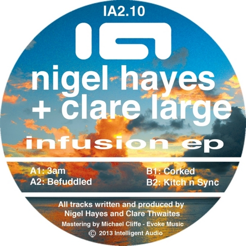 Nigel Hayes & Clare Large - Infusion EP