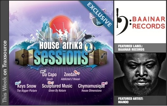 Traxsource Afro House Features - Artists & Labels