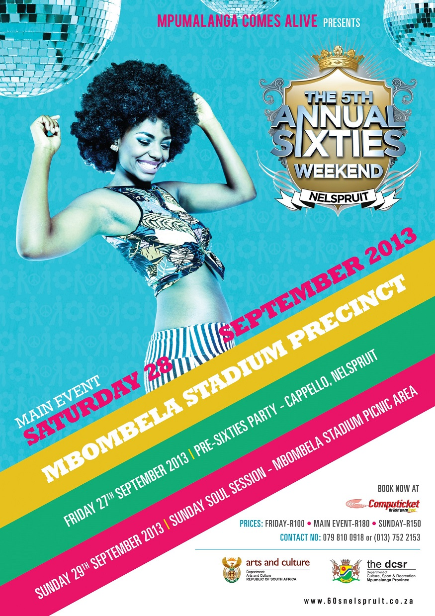 5th Annual Mpumalanga 60's party