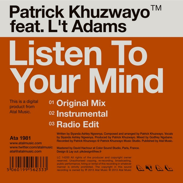 Patrick-Khuzwayo-Listen-To-Your-Mind