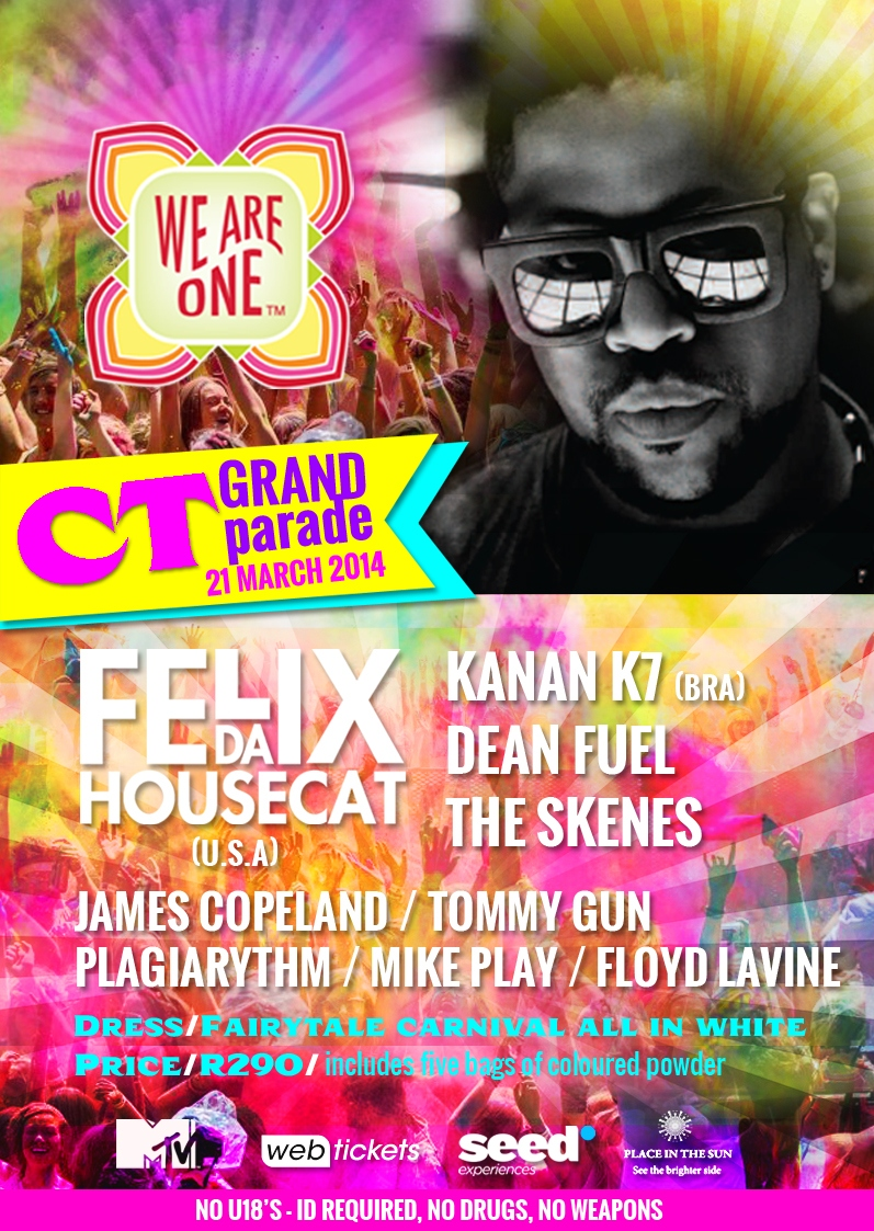 We are One Colour Festival - Cape Town
