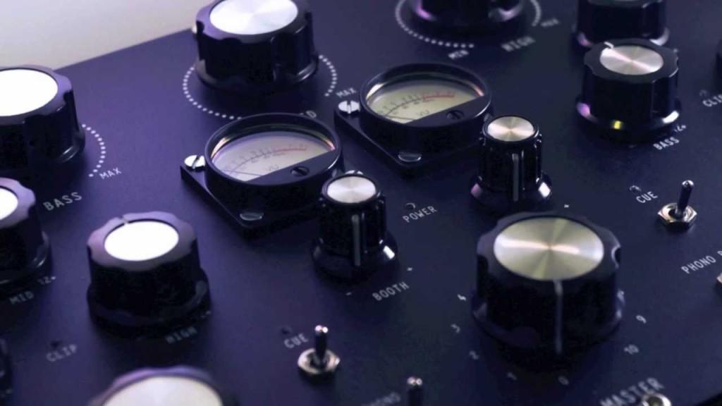 discothequeN77 - Portable Rotary Dj Mixer