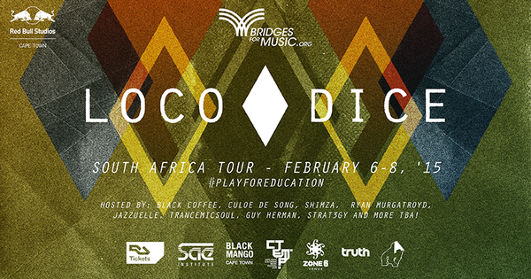 Loco Dice - South Africa Charity Tour