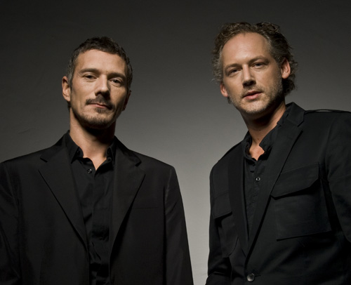 Kruder and Dorfmeister. Press pics for Nokia. Kemistry.
