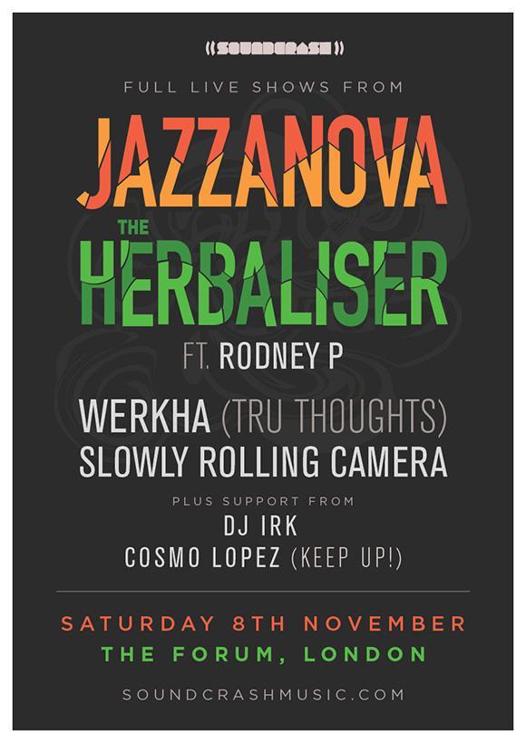 Jazzanova+Herbaliser+Soundcrash