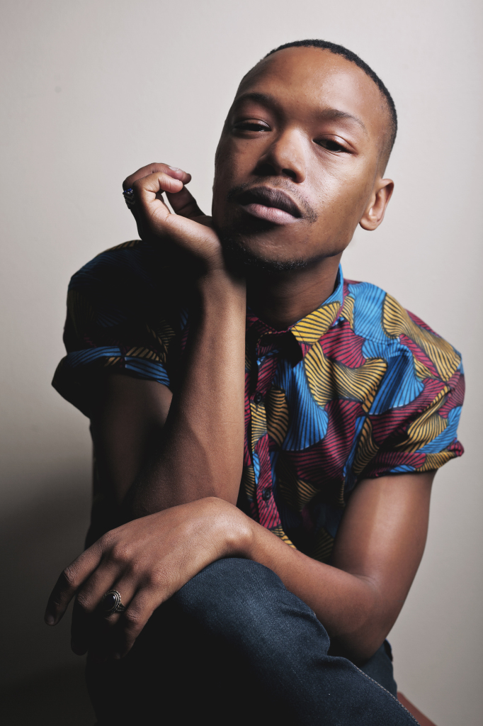 Nakhane Toure by Tarryn Hatchet